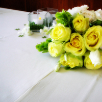 Flowers & Decor, Cakes, yellow, green, cake, Bride Bouquets, Flowers, Bouquet, Toss, Dees petals