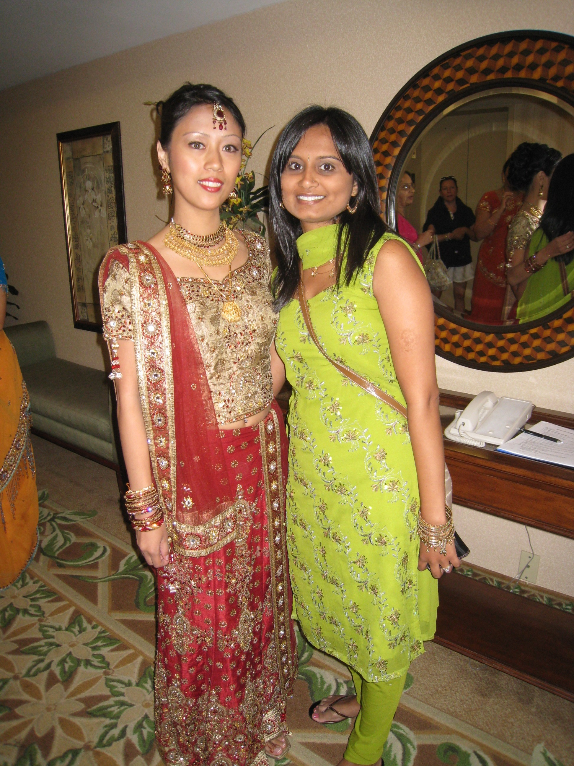 Ceremony, Flowers & Decor, Wedding Dresses, Fashion, red, gold, dress, Bride, Indian, Simply your soiree