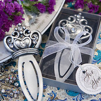 Reception, Flowers & Decor, Favors & Gifts, Jewelry, silver, Tiaras, Favors, Tiara, Princess, Crown, Favors by serendipity