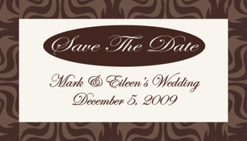 Inspiration, brown, Board, The, Save, Date, Brocade, Favors by serendipity