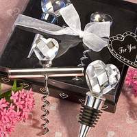 Reception, Flowers & Decor, Favors & Gifts, silver, favor, Wedding, Crystal, Heart, Favors by serendipity, Bottlestopper