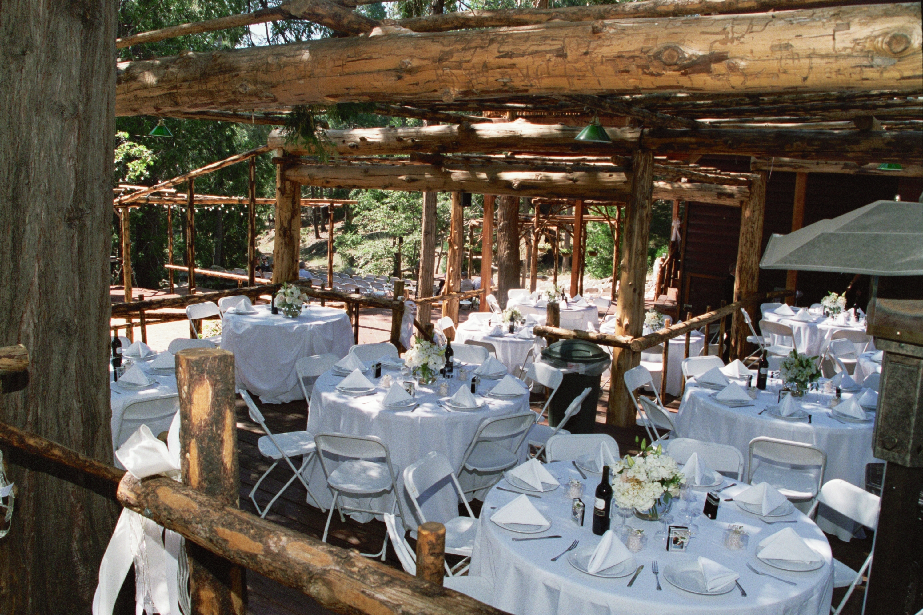 reception at hidden creek lodgevendors pine rose weddings