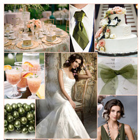 Inspiration, pink, green, Peach, Jim hjelm, Board, Jim hjelm occasions
