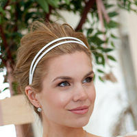 Beauty, white, Makeup, Headbands, Headband, Fiore beauty