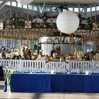 Ceremony, Inspiration, Reception, Flowers & Decor, white, blue, Beach, Ceremony Flowers, Flowers, Beach Wedding Flowers & Decor, Ocean, Water, Board, River, Ocean view, Ernest adams, justice of the peace, Carosel, Wooden horse, Salt water