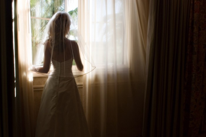 Wedding Dresses, Fashion, white, dress, Bride, Waiting, Window, Imagine studios llc, Las vegas wedding photo