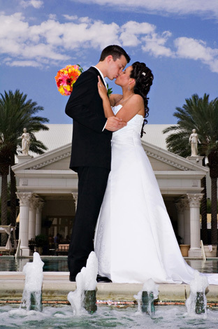 Imagine studios llc, Caesars palace wedding picture