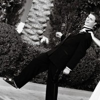 Wedding Dresses, Fashion, white, black, dress, Men's Formal Wear, Bride, Groom, Tux, Laughing, Imagine studios llc, Wedding picture