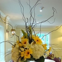 Reception, Flowers & Decor, yellow, Flowers, Karrie hlista
