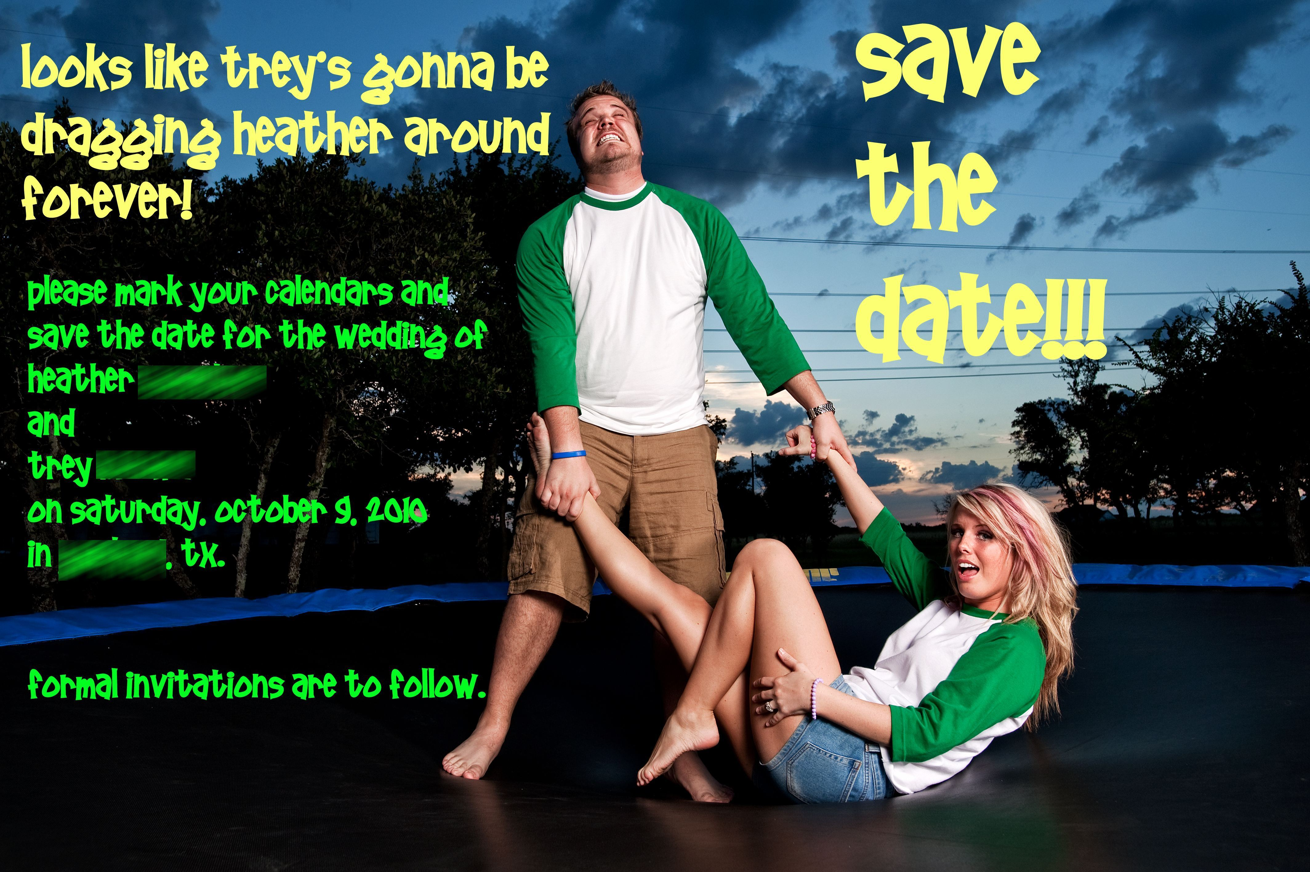 The, Engagement, Save, Pictures, Dates