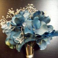 Flowers & Decor, blue, Boutonnieres
