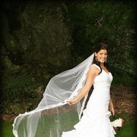 Beauty, Wedding Dresses, Fashion, white, pink, black, dress, Makeup, Hair