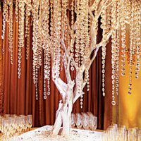 Ceremony, Reception, Flowers & Decor, gold, Table, Tree, Crystal, Signing
