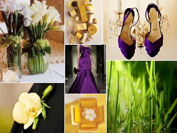Inspiration, purple, green, Board