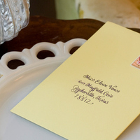 Calligraphy, Stationery, yellow, Invitations, Envelope, Addressing, Amon design studio