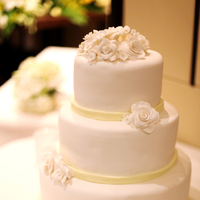 Inspiration, Cakes, white, yellow, cake, Board, Apl cakes