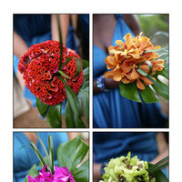 Flowers & Decor, Bridesmaids, Bridesmaids Dresses, Wedding Dresses, Fashion, yellow, orange, pink, red, purple, blue, green, dress, Bridesmaid Bouquets, Flowers, Sms photography, Flower Wedding Dresses