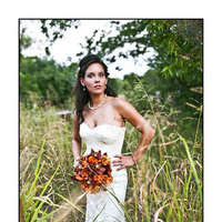 Beauty, Flowers & Decor, Wedding Dresses, Fashion, yellow, orange, red, purple, green, gold, dress, Flowers, Hair, Sms photography, Flower Wedding Dresses