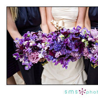 Flowers & Decor, Bridesmaids, Bridesmaids Dresses, Wedding Dresses, Fashion, purple, blue, dress, Bridesmaid Bouquets, Flowers, Sms photography, Flower Wedding Dresses