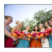 Flowers & Decor, Bridesmaids, Bridesmaids Dresses, Fashion, yellow, orange, pink, blue, green, Bridesmaid Bouquets, Flowers, Sms photography, Flower Wedding Dresses