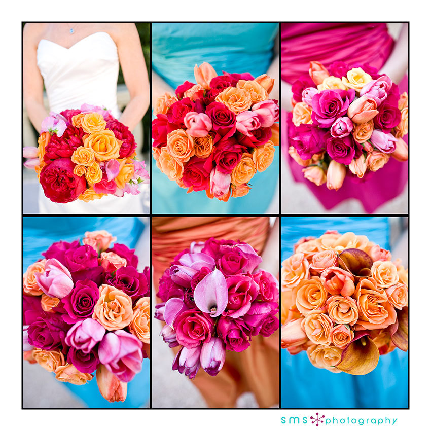 Ceremony, Reception, Flowers & Decor, Bridesmaids, Bridesmaids Dresses, Wedding Dresses, Fashion, yellow, orange, pink, red, blue, green, gold, dress, Ceremony Flowers, Bridesmaid Bouquets, Flowers, Sms photography, Flower Wedding Dresses