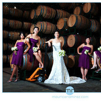 Beauty, Flowers & Decor, Bridesmaids, Bridesmaids Dresses, Wedding Dresses, Fashion, blue, dress, Bridesmaid Bouquets, Flowers, Hair, Winery, Maurice ramirez photo design, Flower Wedding Dresses