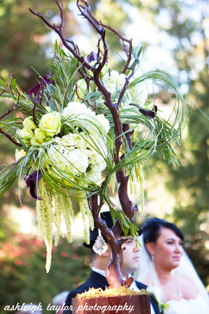 Ceremony, Flowers & Decor, white, purple, green, Ceremony Flowers, Flowers, Ashleigh taylor photography