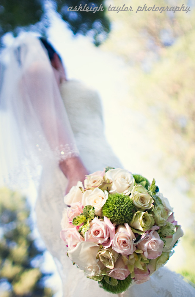 Flowers & Decor, white, pink, green, Bride Bouquets, Bride, Flowers, Roses, Bouquet, Calla, Bridal, Lily, Ashleigh taylor photography