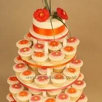 Cakes, orange, cake