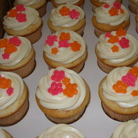 Cakes, orange, pink, cake