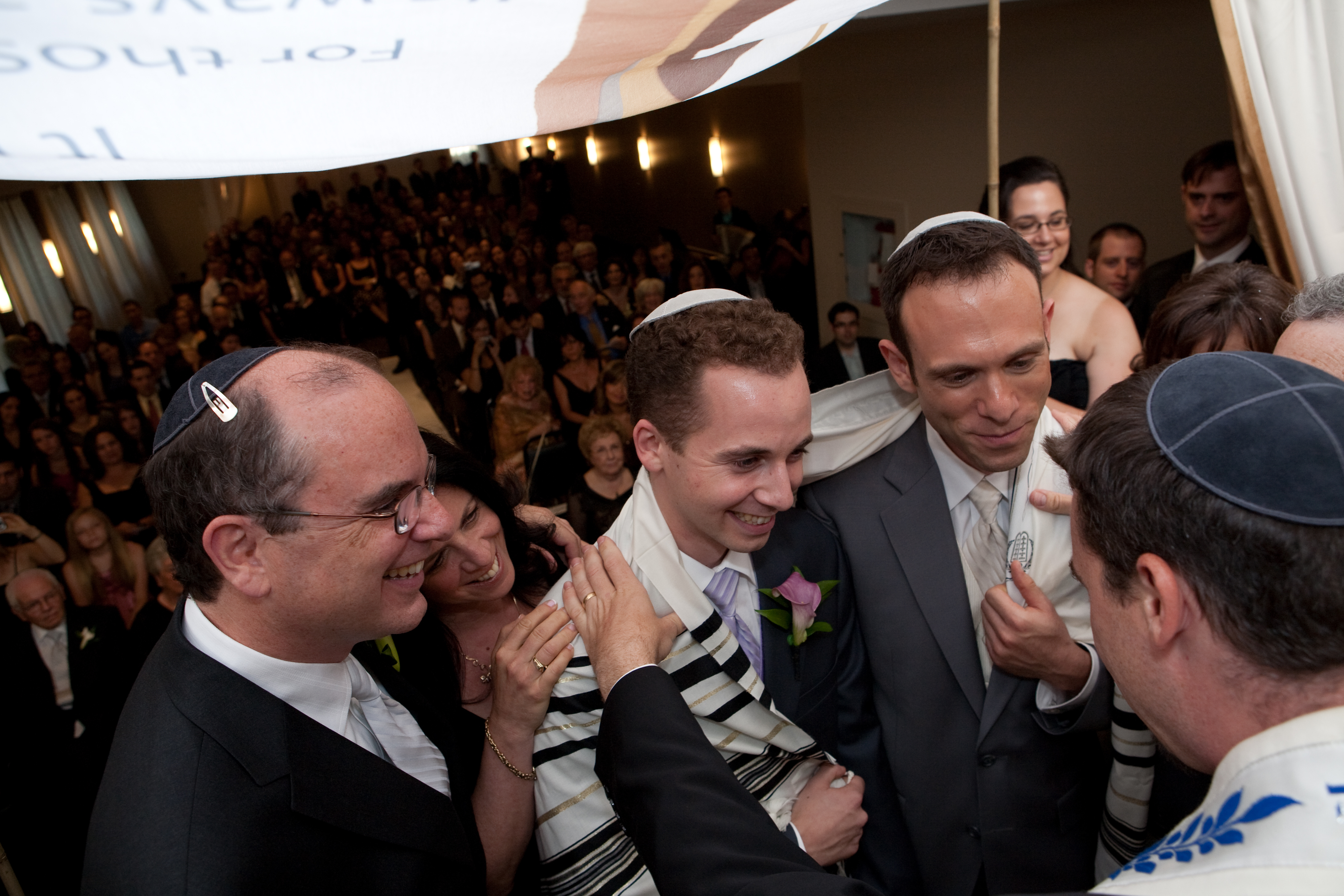 Ceremony, Flowers & Decor, Groom, Jewish, Gay, Suits, Same, Sex, Bravo photographers