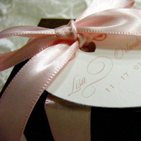 Reception, Flowers & Decor, Favors & Gifts, pink, brown, Favors, Guest, Bridal trends weddings