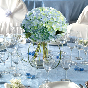 blue, Beach Wedding Flowers & Decor