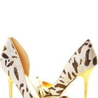 Shoes, Fashion, brown, Beige, Cheetah