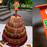 Cakes, orange, cake, Griffin photography, Aggie
