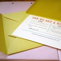Stationery, Invitations, Reply Cards, Rsvp