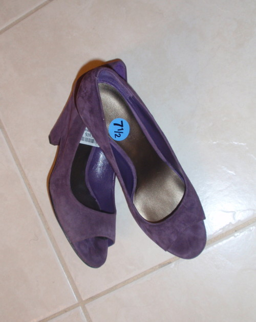 Shoes, Fashion, purple, Suede