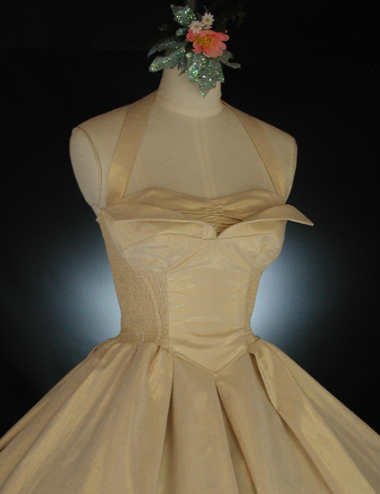 Wedding dresses vintage wedding dresses fashion white gold dress