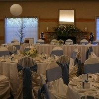Reception, Flowers & Decor, Decor, white, blue, Watkins event decor