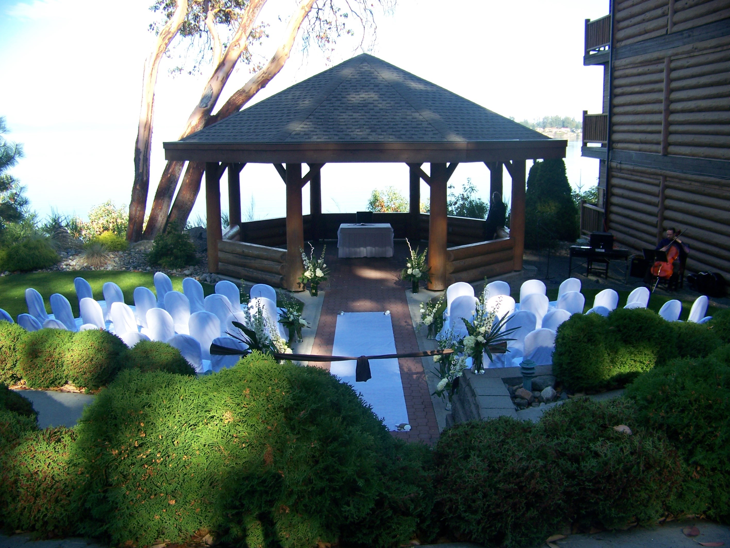 Ceremony, Flowers & Decor, white, Chair, Covers, Watkins event decor