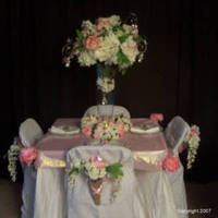 Reception, Flowers & Decor, white, pink, Centerpieces, Flowers, Flower, Centerpiece, Table, Design, Decoration, Vivid expressions llc