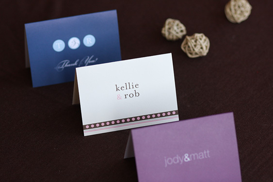 Stationery, Invitations, Place Cards, Escort Cards, Papermints