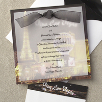 Stationery, white, yellow, red, black, gold, Invitations