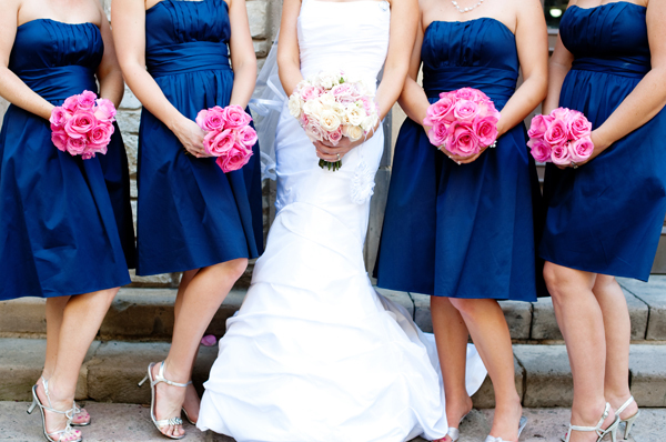 Flowers & Decor, Bridesmaids, Bridesmaids Dresses, Wedding Dresses, Fashion, white, pink, blue, dress, Bridesmaid Bouquets, Flowers, Captivating simplicity photography, Flower Wedding Dresses