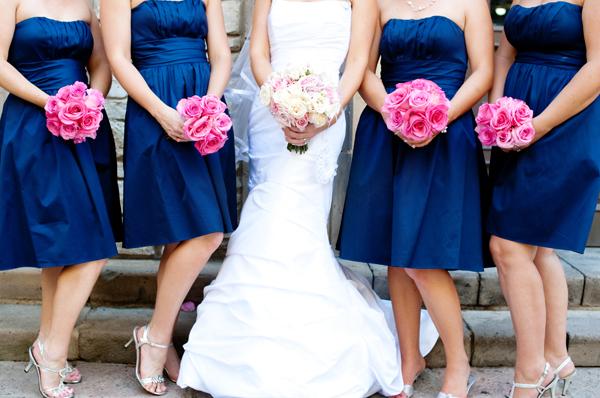 Flowers & Decor, Bridesmaids, Bridesmaids Dresses, Wedding Dresses, Fashion, white, pink, blue, dress, Bridesmaid Bouquets, Flowers, Captivating simplicity photography, Flower Wedding Dresses