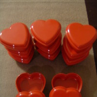 Favors & Gifts, red, favor, Heart, Boxes