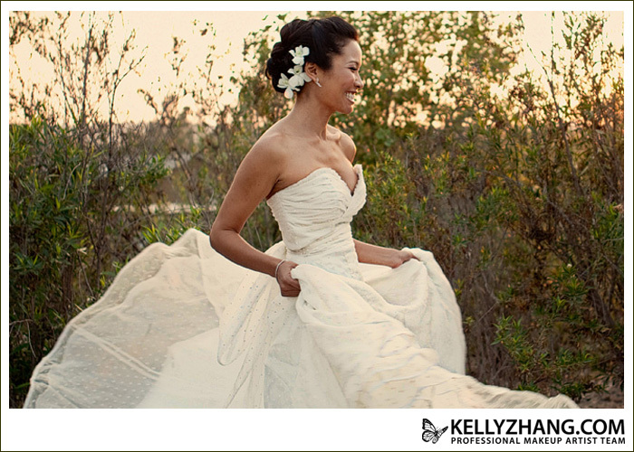 Beauty, Wedding Dresses, Fashion, white, silver, dress, Makeup, Updo, Hair, Kelly, Kelly zhang make up artists and hair stylists team, Zhang