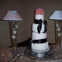 Cakes, white, ivory, black, cake, Fondant, Lace, Cake-cakes, Cornelli