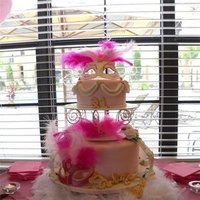 Reception, Flowers & Decor, Cakes, white, yellow, orange, pink, red, purple, blue, green, brown, black, silver, gold, cake, Flowers, Fondant, Gumpaste, 3d, Sweet jewel cakes