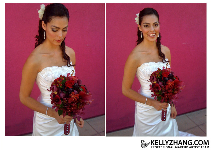 Beauty, Flowers & Decor, Jewelry, Wedding Dresses, Fashion, orange, pink, red, purple, brown, gold, dress, Makeup, Flowers, Hair, Kelly, Kelly zhang make up artists and hair stylists team, Zhang, Flower Wedding Dresses